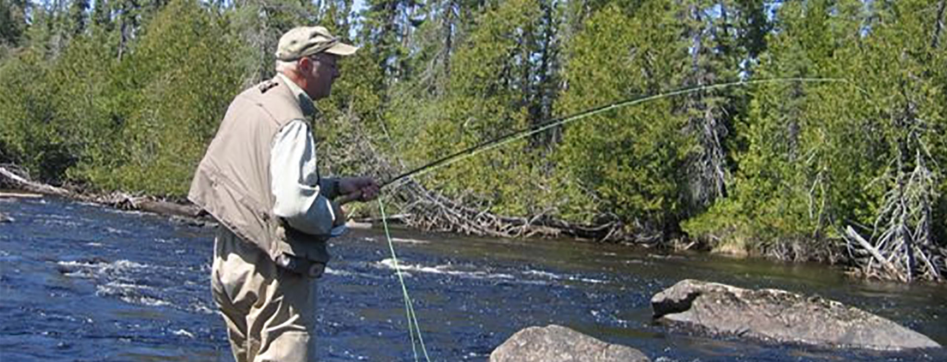 Ontario Fly Fishing on Nakina's Rivers