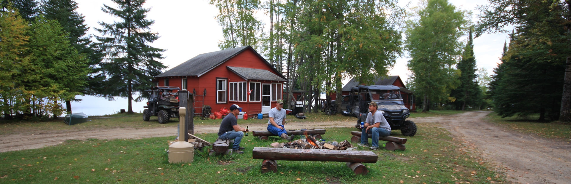 Walleye Cove Lodge on Lower Twin Lake Nakina, Ontario
