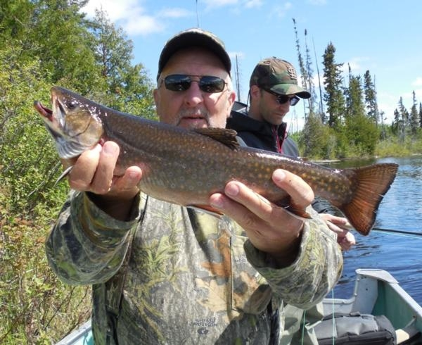 Fly-in Brook Trout Fishing: