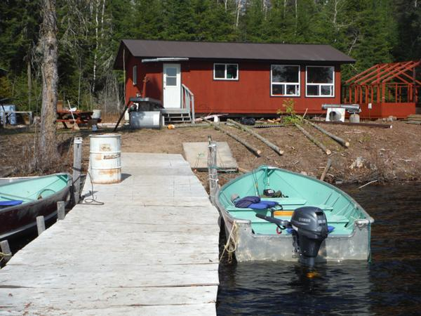 Dusey lake outpost 7 lakes wilderness camp in nakina for Ontario fly in fishing outposts